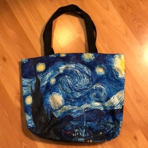 new Van Gogh Starry Night tote bag